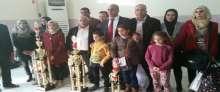 طلاب مركز حساب الذكاء العقلي في فلسطين يصلون أرض الوطن مع إنجازاتهم العالمية