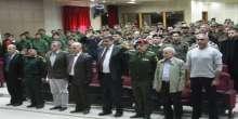 جامعة الاستقلال وهيئة التوجيه السياسي يخرجون الضباط المشاركين في دورة المفوضين السياسيين
