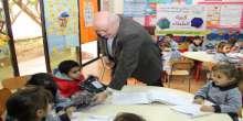 الرعاية تقدم 1400 كنزة شتاء لطلاب المدارس في صيدا والجوار