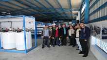 طلبة المهن الهندسية بالكلية الجامعية للعلوم التطبيقية يتعرفون على آلية عمل الأنظمة الصحية بقطاع غزة