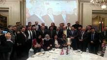 الجالية الفلسطينية في تركيا تحتفل بودع السفير