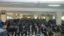 منظمة التحرير الفلسطينية وجبهة التحرير تقيم حفلاً تأبينياً للشهيد العقيد ابراهيم  الصفوري في الرشيدي