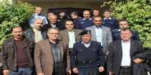 وفد من الامن العام الاردني في زيارة لدولة فلسطين