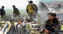 الأكراد واليزيديون يقاتلون تنظيم الدولة الإسلامية للسيطرة على بلدة سنجار