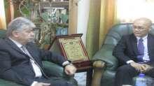 د.مجدلاني يلتقي ممثل اليابان ويؤكد على أهمية التوجه الفلسطيني لمجلس الامن
