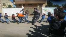 """متطوعو الهلال ينفذون نشاط """"فرح ومرح"""" في بلدة كفر لاقف"""