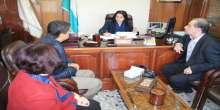 منسق برامج وكالة التنسيق والتعاون التركي في فلسطين يزور بلدية بيت لحم