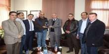 """رئيس بلدية الخليل يَلتقي عضو البرلمان الأردني """"خوري"""""""