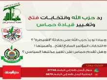 رد حزب الله وانتخابات فتح وتغيير قيادة حماس