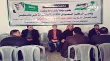 المركز السعودي للثقافة والتراث يقيم بيت عزاء لليوم الثاني لخادم الحرمين الملك عبد الله في قطاع غزة