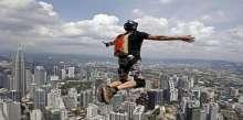 القفز من مرتفعات كوالالمبور
