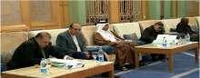 د. حسن راتب يقدم واجب العزاء فى وفاة الملك عبد الله