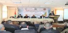 """مجلس الخدمات المشترك في سلفيت ومركز التطوير المائي يعقدان ورشة حول """"مشروع الاحواض المائية في فلسطين"""""""