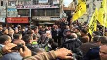 قوات الأمن الوطني الفلسطيني تشارك بالوقفة الشعبية دعماً لخطوات الرئيس محمود عباس