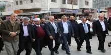حركة فتح تنظم وقفة إحتجاجية ضد إحتجاز حكومة الإحتلال لعائدات الضرائب الفلسطينية