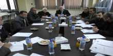 المحافظ الخندقجي يتراس اجتماع المجلس المحلي للتشغيل والتعليم والتدريب المهني