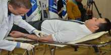 مفوضية الانتخابات تنظم حملة تبرع بالدم دعما لجرحى القوات الامنية