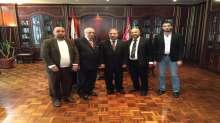 وزير الشؤون الإجتماعية ونقيب الصحافة اللبنانية  في زيارة لجمعية تكافل اللبنانية