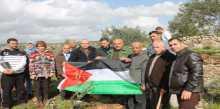محافظة سلفيت والزراعة تنظمان فعالية لزراعة اشتال الزيتون في قراوة بني حسان