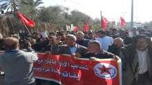 الديمقراطية تنظم وقفتين جماهيريتين أمام مراكز الأونروا في الوسطى وخانيونس احتجاجاً على وقف المساعدات