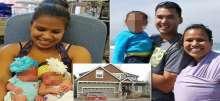 صور وفيديو: أمريكية تقطع أعناق أطفالها الثلاثة لإسكات بكائهم المتواصل