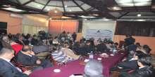"""ندوة حوارية في غزة للتجمع الإعلامي الديمقراطي بعنوان """"واقع الحريات الإعلامية في ظل حكومة التوافق الوطني"""""""