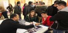 جامعة النجاح الوطنية تشارك المكتب المركزي مدارس تيرا سانتا في بيت لحم ورشة عمل لطلبة الثانوية العامة