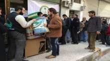 الحملة السعودية تستكمل توزيع كسوة الشتاء على 10 الاف نازح في محافظة اللاذقية على الساحل السوري
