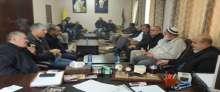 مديرية الأمن الوقائي تقدم 3أجهزة حاسوب لحركة فتح في إقليم قلقيلية