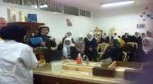 وفد تربوي بريطاني يزور مدرسة بنات فاطمة سرور الثانوية في محافظة قلقيلية