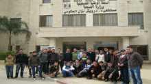 ذكور قلقيلية الشرعية في زيارة لمستشفى درويش نزال الحكومي