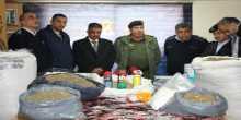 الشرطة والأمن الوطني تضبط ما يزيد عن 50 كغم من المخدرات في بلدة عناتا شرقي مدينة القدس المحتلة