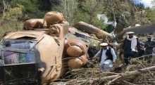 مقتل ثلاثة أشخاص جراء تحطم مروحية عسكرية إيرانية