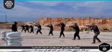 أثارت رعباً في اسرائيل.. شاهد: صور تدريبات مجاهدي فلسطين بمعسكرات داعش