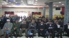 قيادة منطقة جنين وطوباس تشارك في حضور افتتاح معرض  شركة مجمع سيلة الظهر التجارية