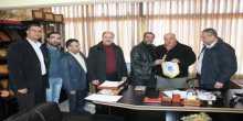 وفد من مركز يافا الثقافي يزور الدفاع المدني في نابلس