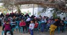 مؤسسة دعم فلسطين الدولية تختتم مشروع الدعم النفسي لأبناء الشهداء فى خانيونس