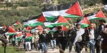 مظاهرة حاشدة في الخليل تنتهي بصدام مع قوات الاحتلال