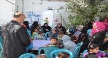 بالصور: مؤسسة دعم فلسطين الدولية تختتم مشروع الدعم النفسي لأبناء الشهداء فى خانيونس