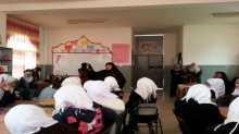 بنات حبلة الثانوية تنظم ورشة عمل بعنوان مهارات التفوق والنجاح في قلقيلية