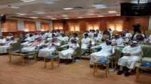 العمل تنظم دورات تدريبية لطلبة المعهد الطبي التقني