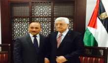 الرئيس يستقبل الوزير الحساينة في مكتبه بمقر الرئاسة في رام الله