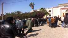 احتجاجات أمام ابتدائية تارودانت تزامنا مع محاكمة الناشط الحقوقي عبد اللطيف بن الشيخ