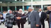 حملة مصحف لكل معلم تواصل زيارتها للمدارس في جنين