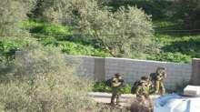 الاحتلال ينفذ تدريبات عسكرية في بلدة اليامون غرب جنين
