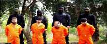 داعش يعدم 4 عراقيين من عشيرة سنية في صلاح الدين