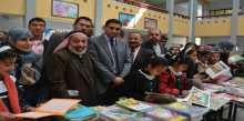 """الوزارة تفتتح معرض الكتاب المركزي الثاني """"مكتباتنا إشراقة أمل – نقرأ لنحيا"""" بشرق خان يونس"""
