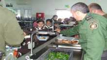 قيادة منطقة جنين تستقبل زهرات مدرسة بنات كفرذان الأساسية وبنات عانين الثانوية