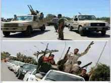 اندلاع اشتباكات عنيفة للسيطرة علي قاعدة براك الشاطي بين ثوار فجر ليبيا  وجيش القذافي وقوات حفتر وتنظيم داعش
