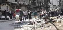 فيلم رسائل من مخيم اليرموك في الأمم المتحدة